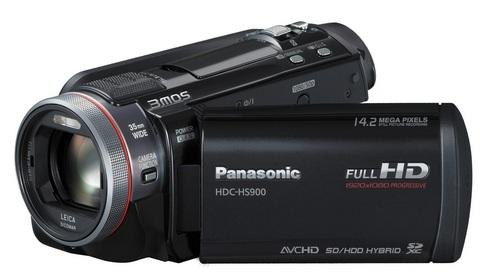 Panasonic videocamera digitale full hd hdc-hs900
