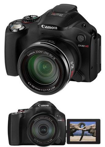 Fotocamera canon powershot sx40 hs
