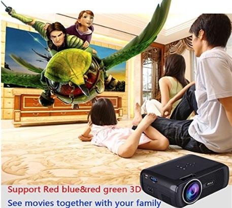 Proiettore portatile home cinema multimedia per bambini