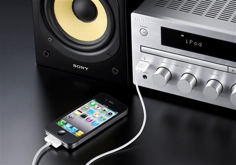 Impianto stereo sony hifi cmt