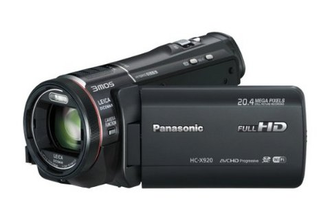 Panasonic videocamera 3d hc