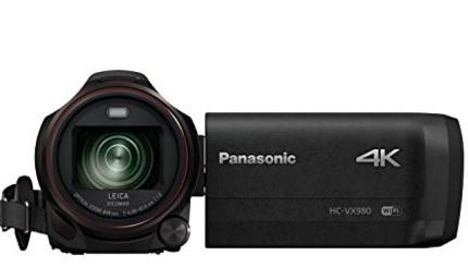 Videocamera panasonic wireless con grandagolo hdr