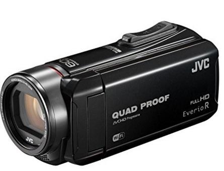 Videocamera full hd quadr proof jvc