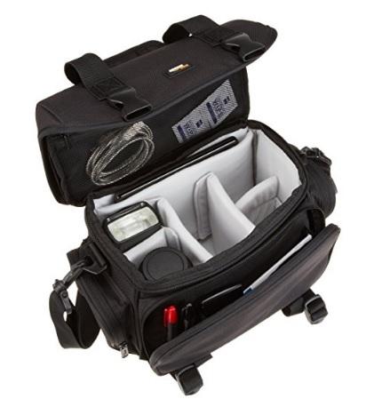 Tracolla grande e professionale per videocamere e accessori