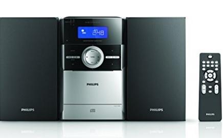 Stereo Moderno Con Sistema Micro Hi Fi Philips