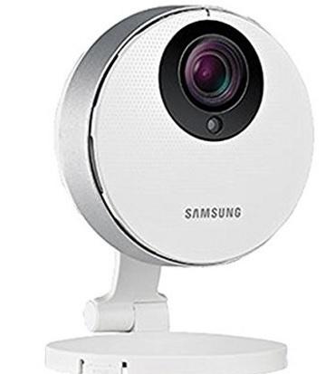 Samsung cam videocamera sorveglianza hd bianca