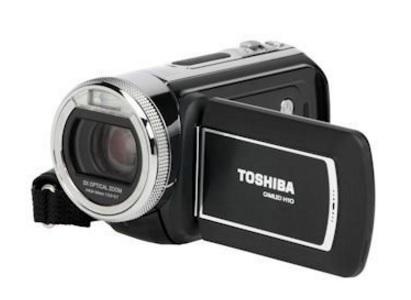 Videocamera toshiba camileo h10
