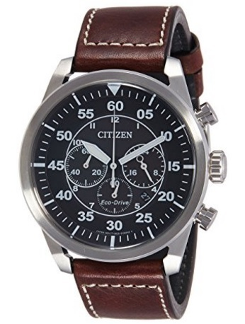 Orologio citizen aviator movimento eco drive