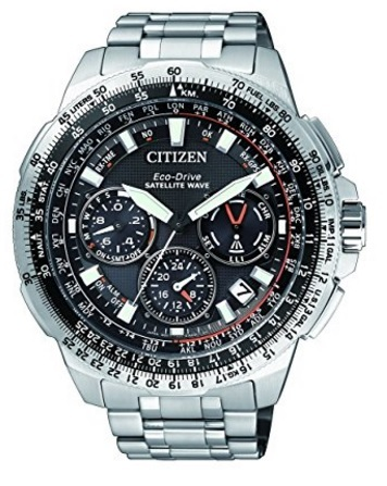 Citizen titanium uhren eco drive satellitare