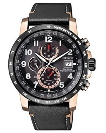 Orologio cronografo radiocontrollato da uomo sportivo