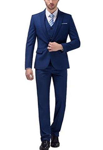 Vestito Slim Fit Smoking Completo Da Uomo