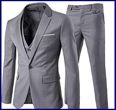 Vestito classico uomo moda