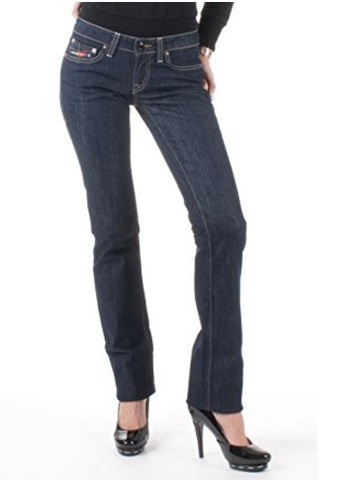 Jeans da donna clink london scuri