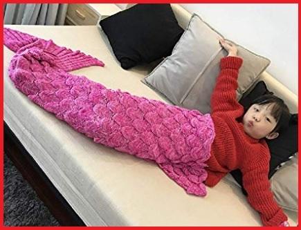 Coda di sirena coperta per bambina