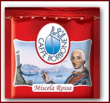 Cialde miscela rossa borbone 150 pezzi