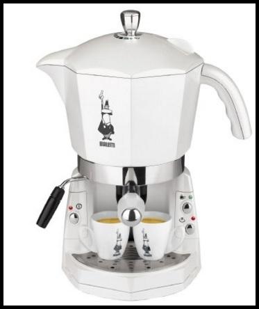 Macchina del caffè a forma di moka bialetti