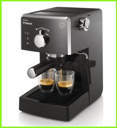 Macchina per caffè automatica con cialde e macinato
