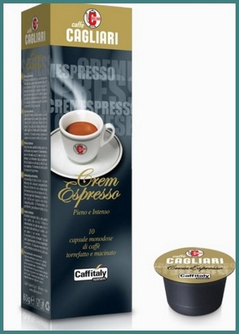 Capsule caffitaly system espresso