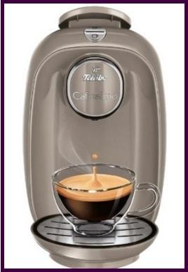 Macchina per caffè piccola e comoda per capsule