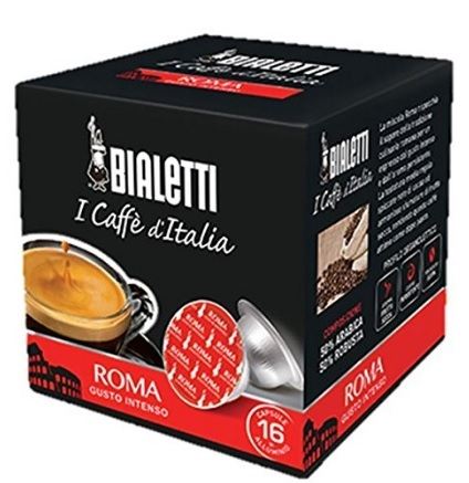 Capsule bialetti mokespresso roma originali