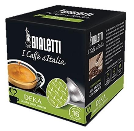 Bialetti cialde in alluminio caffè d'italia