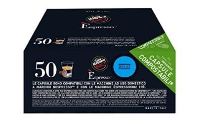 Caffè vergnano capsule compatibili decaffeinato