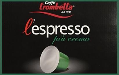 Caffè Trombetta Più Crema L'espresso