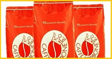 Caffè Borbone In Grani Alta Qualità