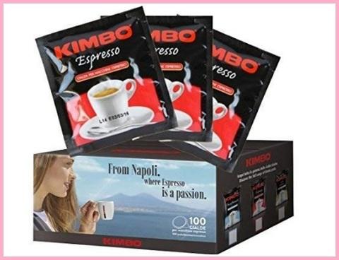 Cialde caffè kimbo