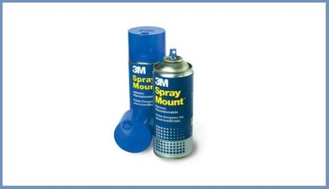 Colla Spray Removibile