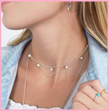 Collane girocollo donna argento