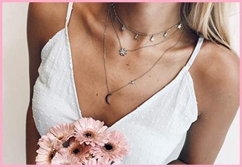 Collana girocollo donna argento 925