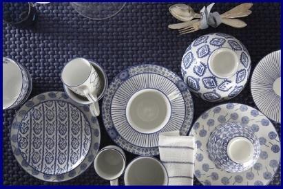 Piatti In Porcellana Da Collezione Indaco