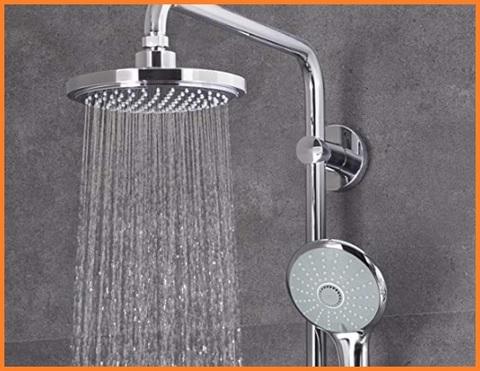 Colonna doccia con soffione grohe