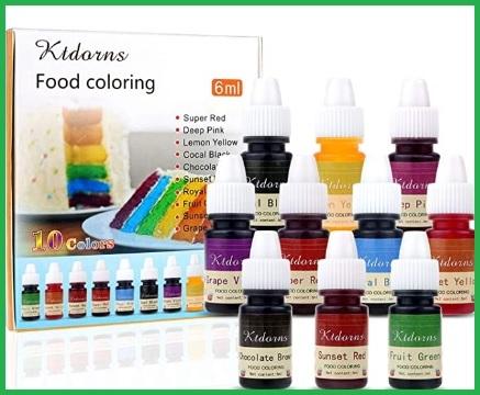 Alimentare colorante liquido