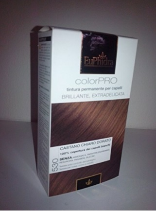 Shampoo Colorato Naturale Castano Chiaro