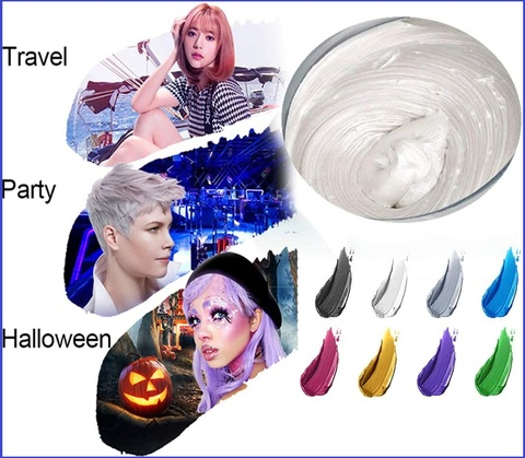 Colore capelli temporaneo bianco