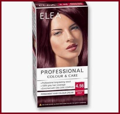 Colore capelli viola permanente