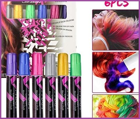 Colori capelli ricci gessetti