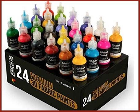 Colori stoffa 3d