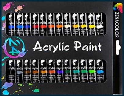 Colori acrilici per dipingere