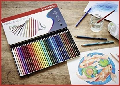 Colori a matita stabilo