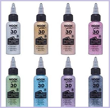 Colori stoffa glitter