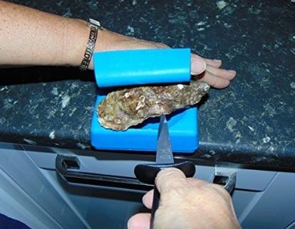Contenitore sicurezza per aprire facilmente le ostriche