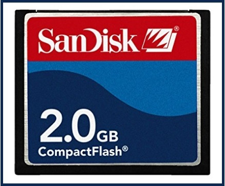 Compact flash 2gb memoria