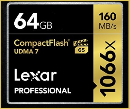 Compact Flash 64gb Lexar Professional