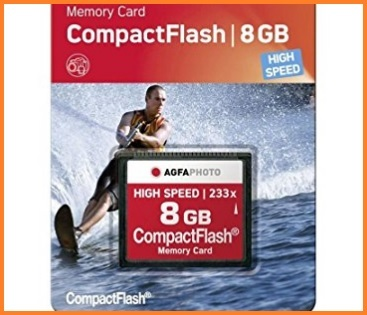 Compact flash 8gb agfa high speed