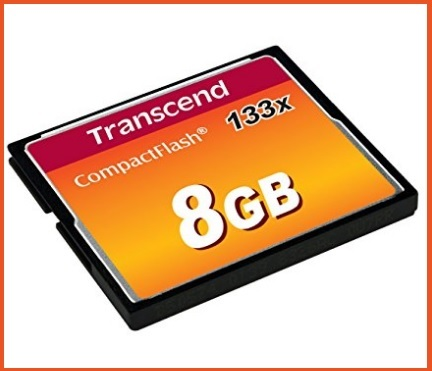 Compact flash 8gb transcend