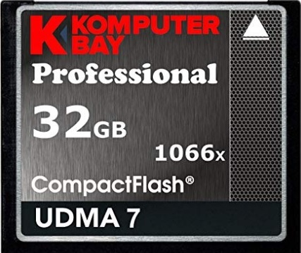 Compact flash 32gb professional