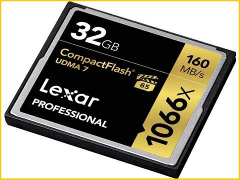 Compact flash 4gb lexar